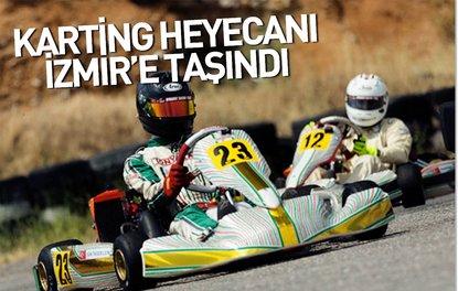Karting heyecanı İzmire taşındı
