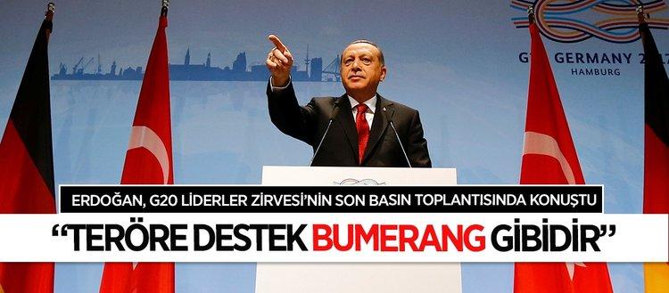 Erdoğan: Konuşmayı engelleyenler, özgürlüklerden söz edemez