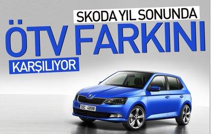 Skoda yıl sonunda ÖTV farkını karşılıyor