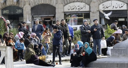 Assad regime accused Israel of firing rockets early on Friday that hit near a major military airport west of Damascus, triggering a fire, and warned Israel of repercussions without specifying...