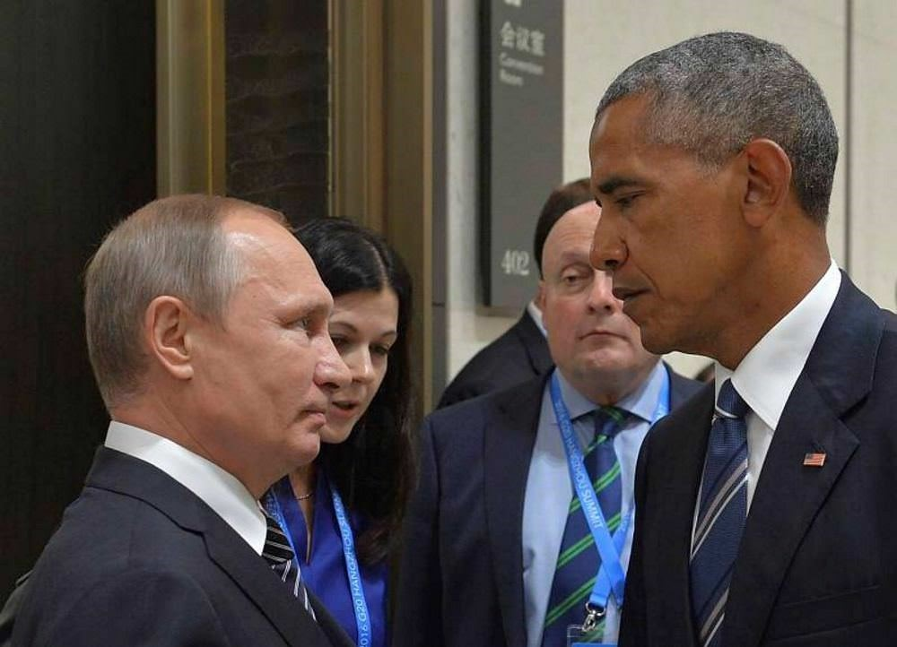 Russian President Vladimir Putin met with his US counterpart Barack Obama on the sidelines of the G20 Leaders Summit in Hangzhou on Sept. 5.