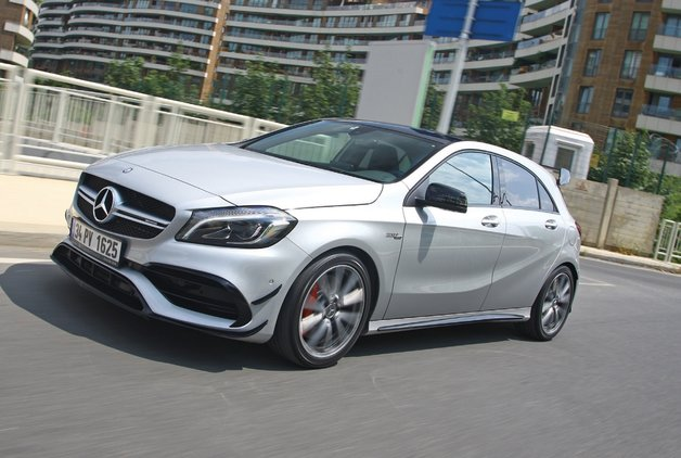TEST · Mercedes - AMG A 45 4Matic