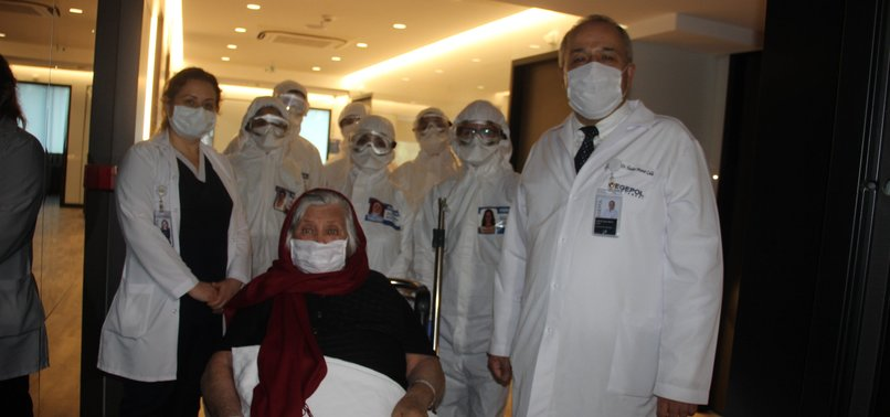TURKEY REPORTS 1,298 MORE RECOVERIES FROM COVID-19 PANDEMIC