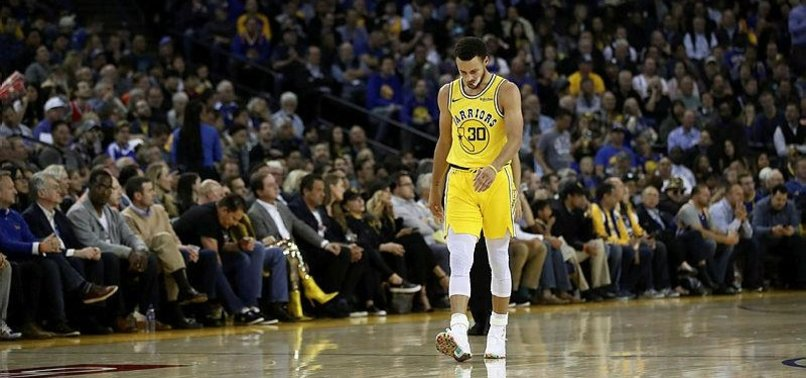CURRY INJURED AS BUCKS STOP WARRIORS 8-GAME WIN STREAK