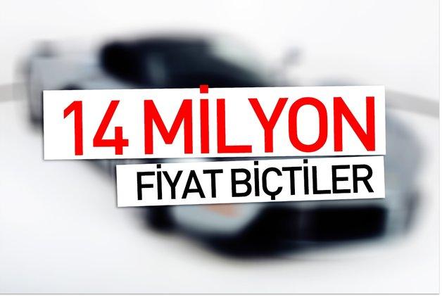 14 milyon TL fiyat biçtiler