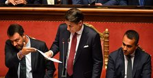 Italian PM Conte announces end of coalition government