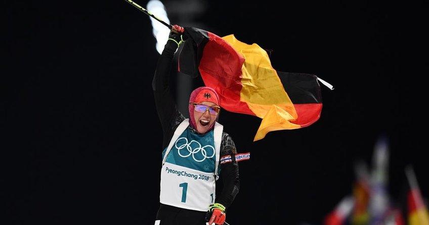 Alman sporcu Kış Olimpiyatlarında tarih yazdı