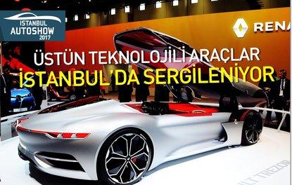 Üstün teknolojili araçlar İstanbulda sergileniyor