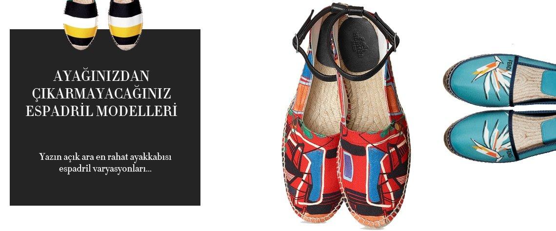 Yazın açık ara en rahat ayakkabısı espadril varyasyonları!