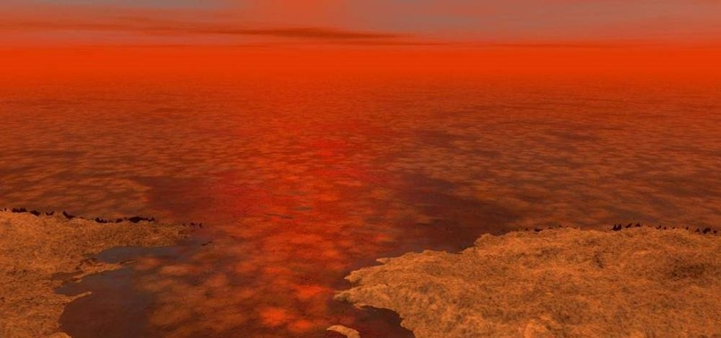 POSSIBILITY OF LIFE: SCIENTISTS MAP SATURNS MOON TITAN