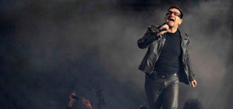 U2'S BONO DEDICATES NEW SONG TO ITALIANS