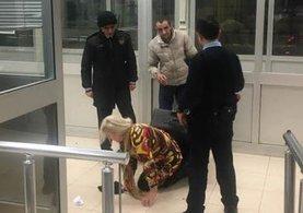 Sınır kapısında bavulun içinde yakalandı!