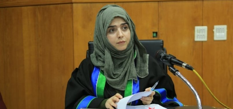 TURKISH WOMAN BECOMES FIRST FOREIGN DEGREE HOLDER IN GAZA