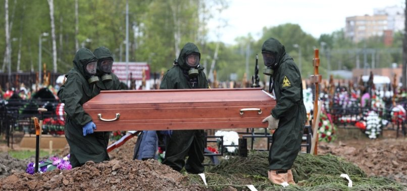 RUSSIA ATTRIBUTES MORE DEATHS TO COVID-19