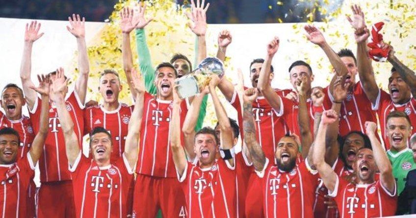 Süper Kupa'nın sahibi Bayern