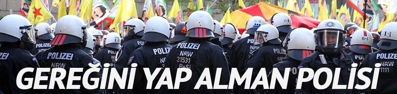 Gereğini yap Alman polisi