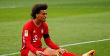 Bayern's Leroy Sané out with new knee injury