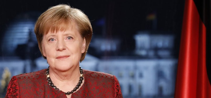 MERKEL SAYS GERMANYS FUTURE BOUND TO EUROPE, DECLARES EU TOP PRIORITY
