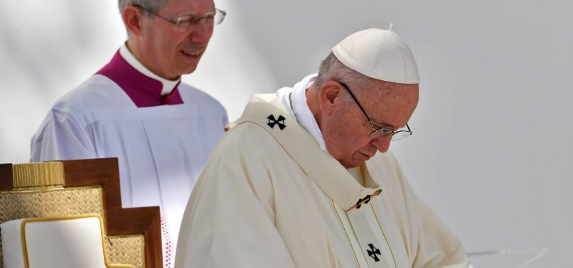POPE ADMITS PRIESTS, BISHOPS SEXUALLY ABUSED NUNS