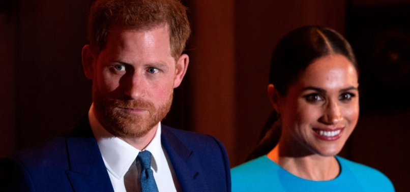 UKS PRINCE HARRY AND WIFE MEGHAN BID FAREWELL TO ROYAL ROLES