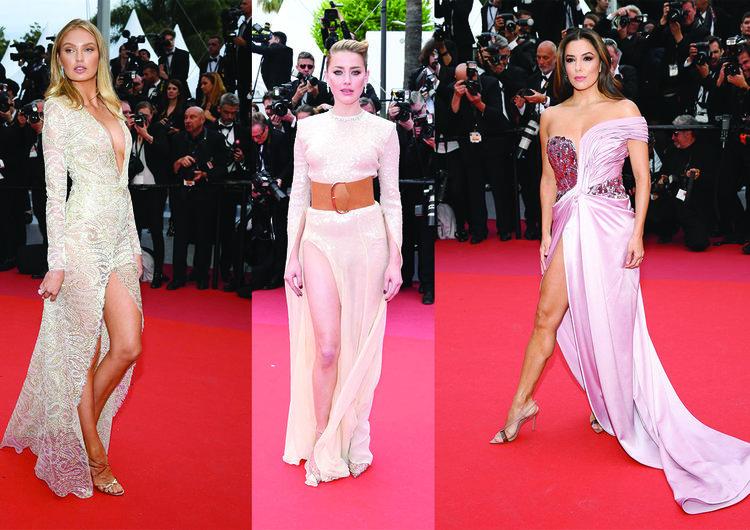 Cannes kırmızı halısında göz dolduran stiller!