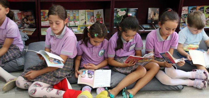 SHOELESS SCHOOL IN TURKEY FOLLOWS HOME TRADITION