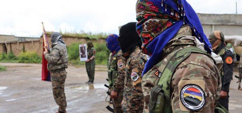 ARMENIA MAKING PKK TERRORISTS WEAR AZERBAIJANI UNIFORMS