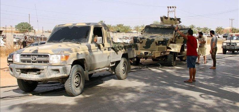 LIBYAN ARMY LIBERATES EASTERN TARHUNA AFTER TRIPOLI