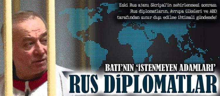 Batı'nın 'istenmeyen adamları' Rus diplomatlar