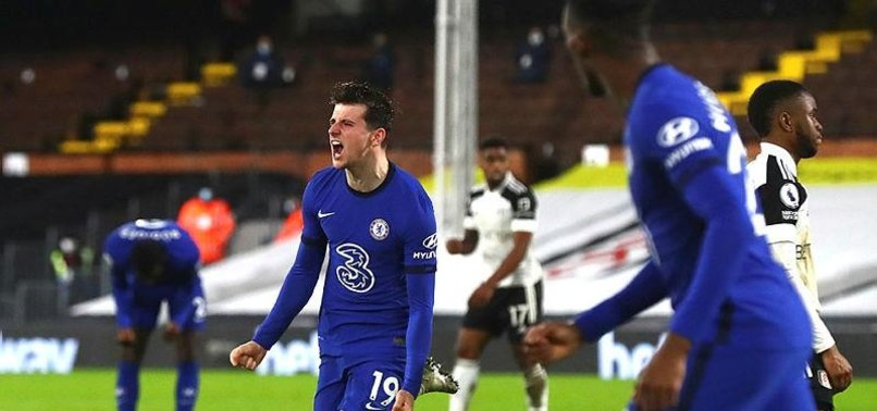 LATE MOUNT GOAL GIVES CHELSEA 1-0 WIN OVER 10-MAN FULHAM
