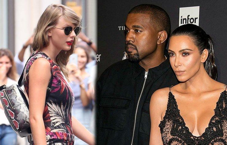Taylor Swift çantasındaki figürle kendisine 'yılan' diyen Kim Kardashian'a göndermede bulundu. Durumu adeta 'ti'ye aldı.