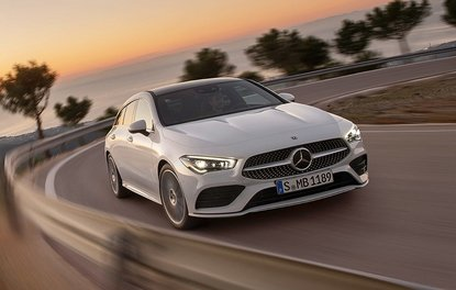 YENİ MERCEDES CLA SHOOTİNG BRAKE