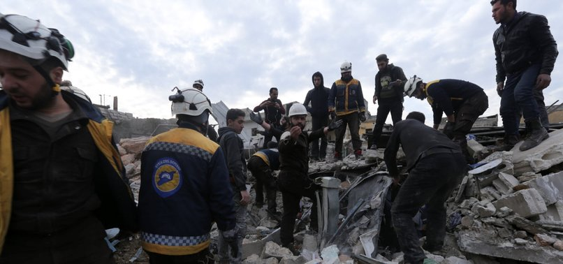 REGIME AIRSTRIKES ON MARKET IN REBEL-HELD IDLIB LEAVE 15 DEAD