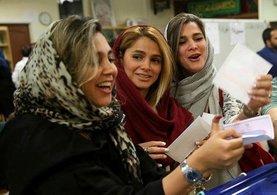 İran seçimlerinde Hasan Ruhani açık ara önde