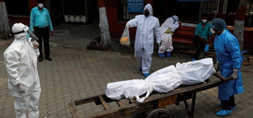 INDIAS CORONAVIRUS DEATH TOLL HITS 20,000 AS INFECTIONS SURGE