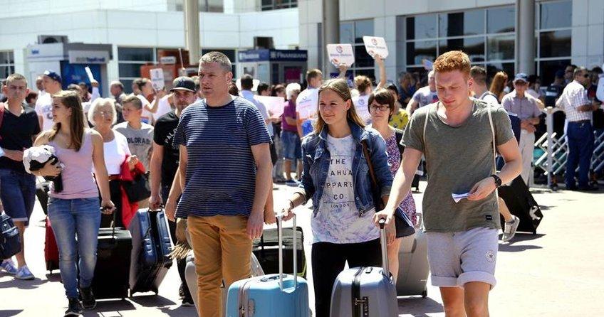 Alman turist sayısı azaldı