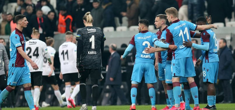 TRABZONSPOR DRAW WITH BEŞIKTAŞ ON 2 GOALS BY SORLOTH