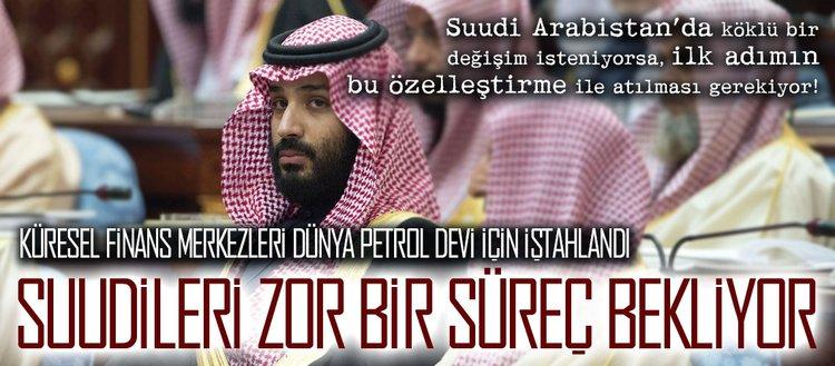 Suudileri zorlu bir süreç bekliyor!