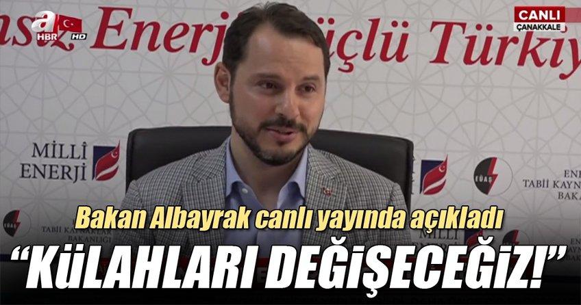 Bakan Berat Albayrak'tan önemli açıklamalar!