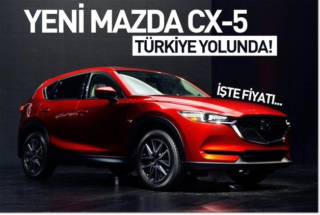Yeni Mazda CX-5 Türkiye yolunda! İşte fiyatı…