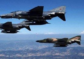 Suriye'de terör örgütlerini TSK vurdu
