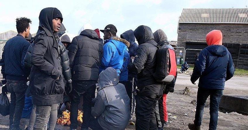 Fransada sığınmacılar devletin dağıttığı yemeği almadı