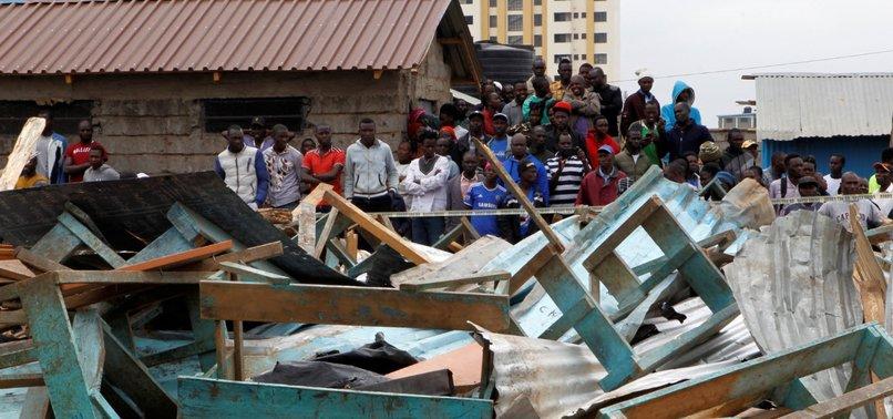 AT LEAST 7 STUDENTS DIE IN KENYA SCHOOL COLLAPSE