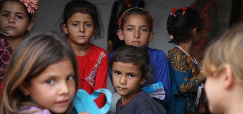 EDUCATION KEEPS CHILDREN IN AZAZ HOPEFUL OF SYRIAS FUTURE