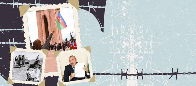 İşgalden kurtarılan Karabağ'ın tarihi kırılma...