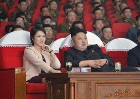 Kim Jong-un'un sır gibi sakladığı eşi ortaya çıktı!
