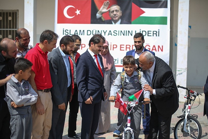 Distribution of second Turkish aid shipment begins in Gaza