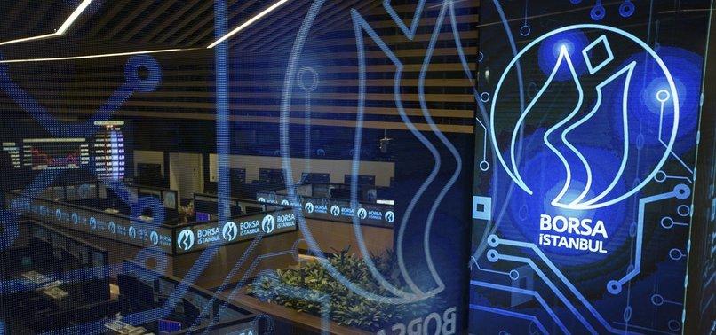 TURKEYS BENCHMARK STOCK INDEX UP AT MIDWEEK CLOSE