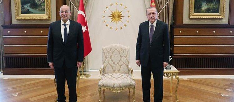 Yunanistan Dışişleri Bakanı Dendias: Cumhurbaşkanı Erdoğan hayatında çok şeyi başarmış önemli bir lider