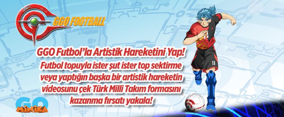 GGO Futbolla Artistik Hareketini Yap